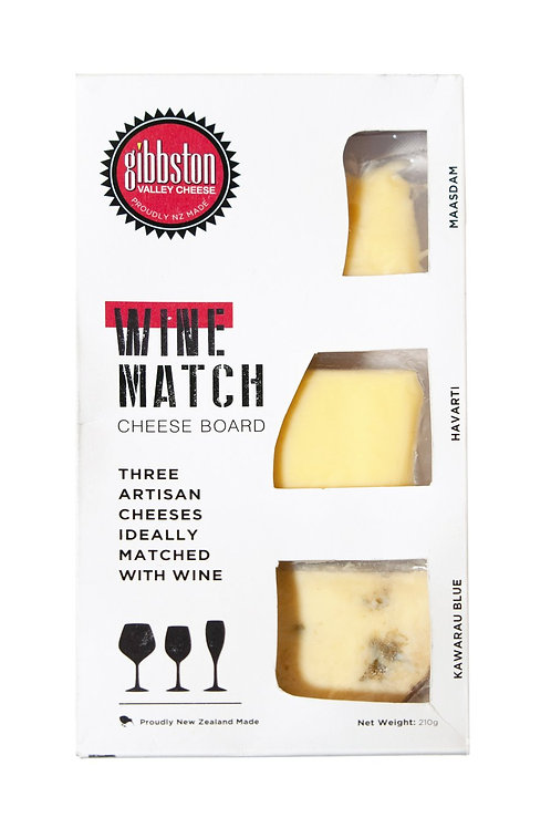 Gibbston Valley Cheese Wine Match Cheeseboard