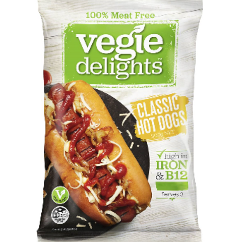 Vegie Delight Classic Hot Dogs