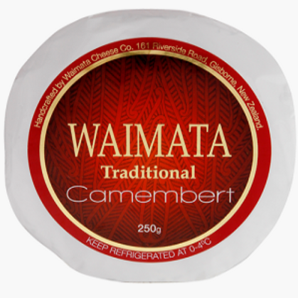 Waimata Traditional Camembert 250g