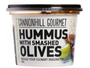 Cannonhill Gourmet Hummus with Smashed Olives