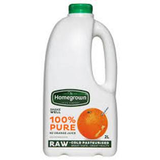 Homegrown Orange Juice 2L