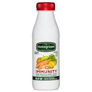 Homegrown Immunity Juice 400ml