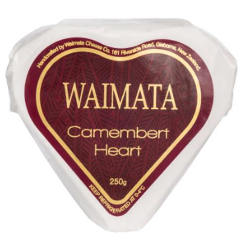 Waimata Camembert Heart 250g