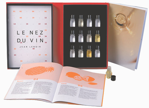 Le Nez du Vin 【White Wines and Champagnes 12 aromas】