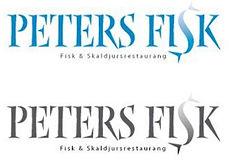 Logga för Peters fisk