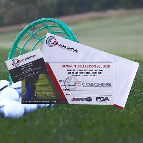 60 Minute Golf Lesson Voucher
