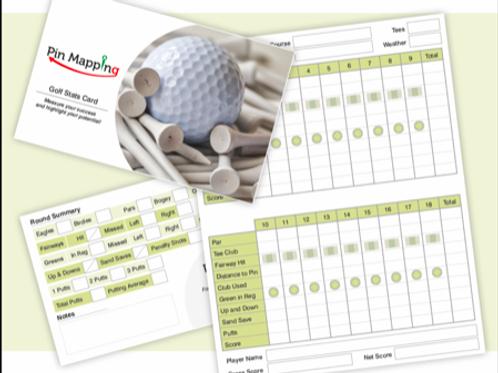 7 Golf Statistics Cards