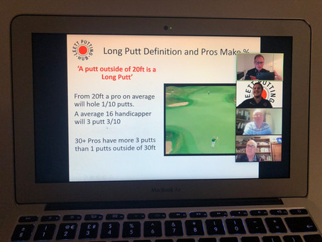 Thank you to all who attended our Putting Zoom Evening