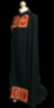 Мантия со скрижалями