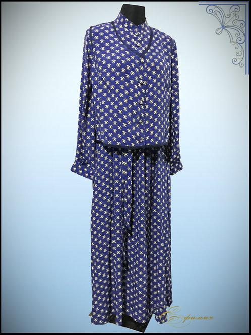 Женское монашеское платье с жилеткой. Вискоза 100%.