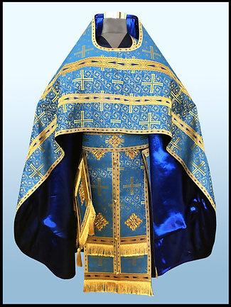 Синее облачение. Византийский Крест