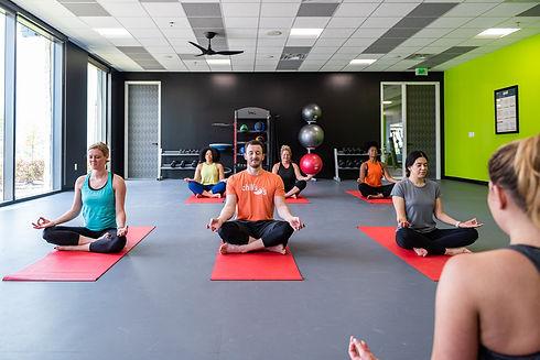 Yoga branded environment