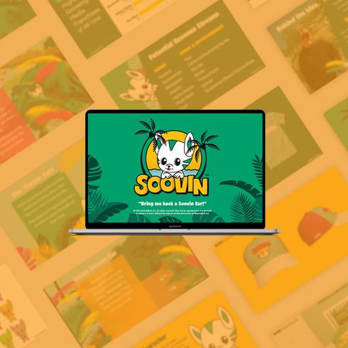 Soovin Branding & Pitch Deck