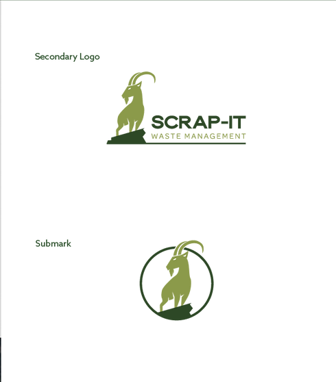 Scrap-It Waste Management Logos