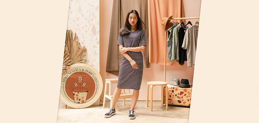 Boho clothing and home goods boutique logo