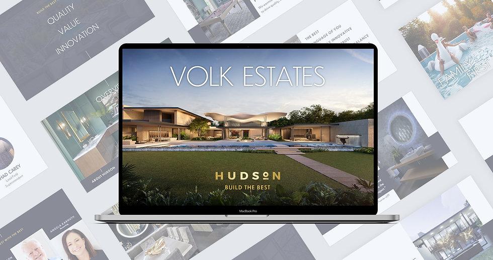 Volk estates luxury home presentation