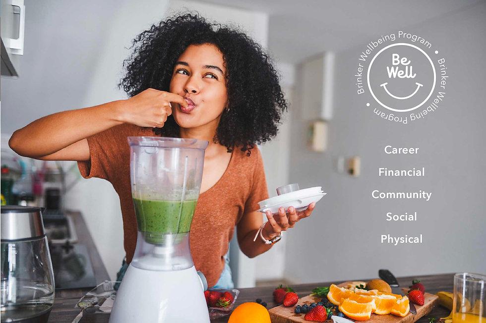 Brinker Wellbeing program brand mark