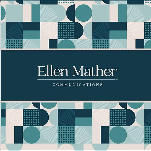 Ellen Mather Communications logo