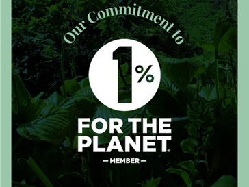 Our Commitment to 1% for the Planet