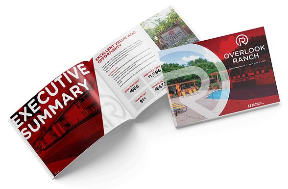 Overlook Ranch Offering Memorandum Brochure Design