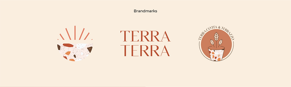 Terra Cotta & Terrazzo brandmarks