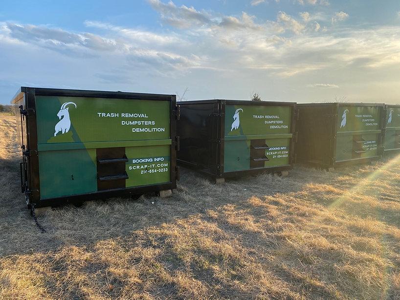 Scrap-It Dumpster Vehicle Wrap