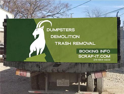 Scrap-It Hino Vehicle Wrap