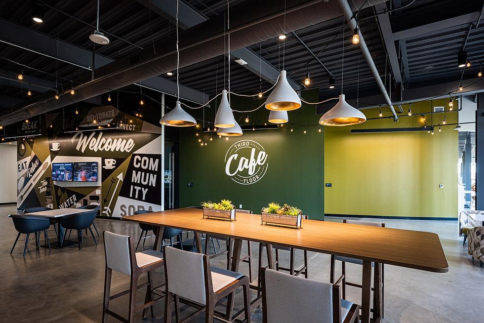 Cafe branded environmental design