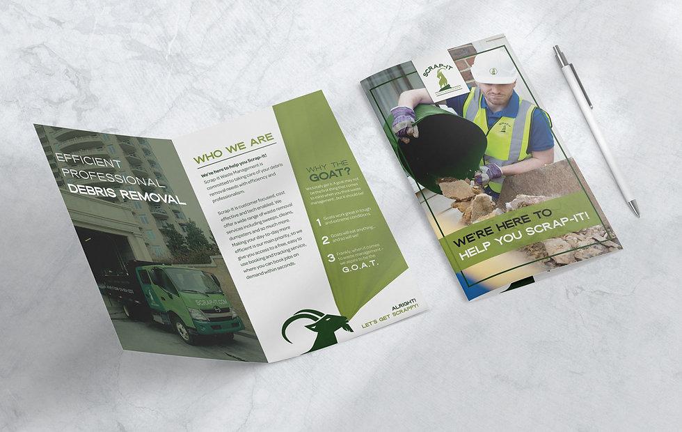 Scrap-It Brochure Design