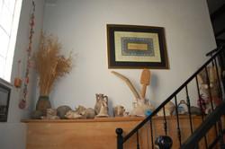 Stairs - history shelf :o)