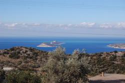 View of Kalkan from Bezirgan Road