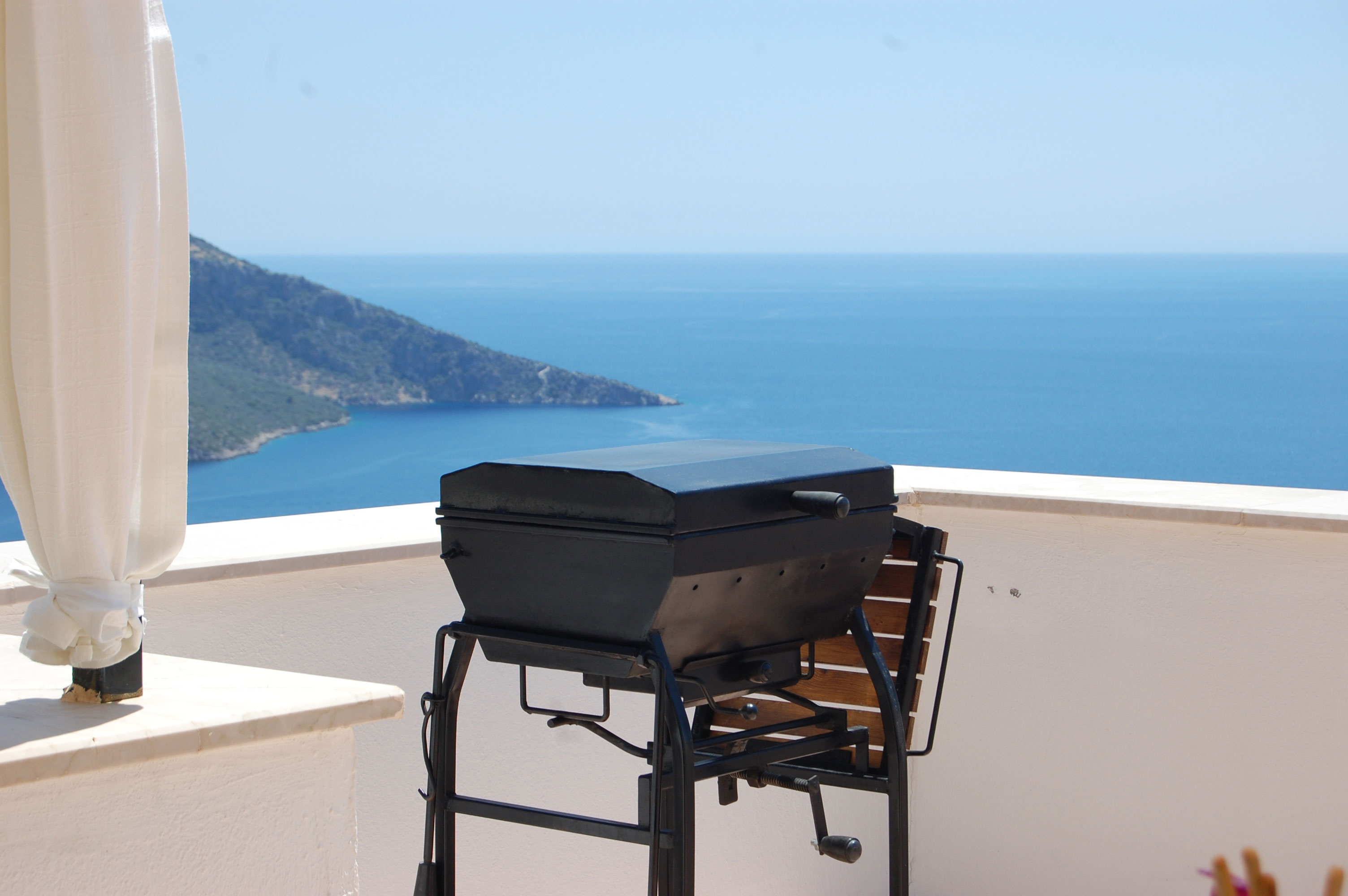 BBQ with a fab view