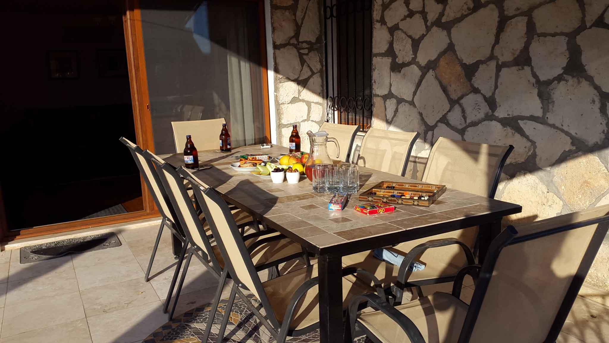Pool Terrace Table