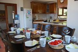 Breakfast inside