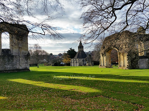 Abbey Grounds Glastonbury