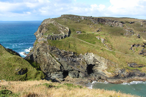 Merlin's Cave, Tintagel Castle, Cornwall