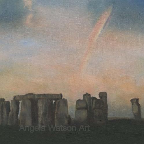 Stonehenge Dawn