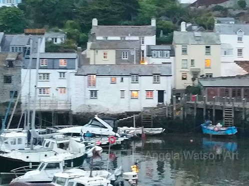 Evening Light, Polperro, Cornwall
