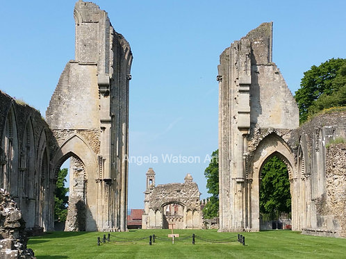 King Arthur's Resting Place, Glastonbury Abbey