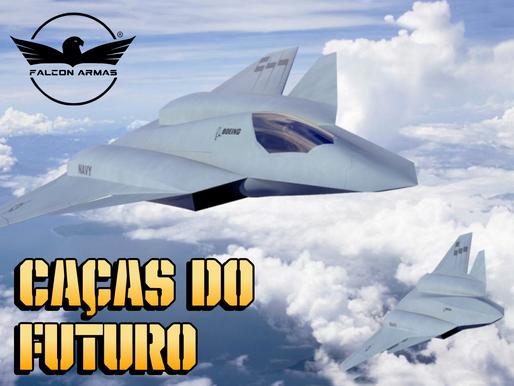 """Futuro: Aeronaves de combate previstas para 2040 serão """"invisíveis"""" e poderão ter canhões de laser."""
