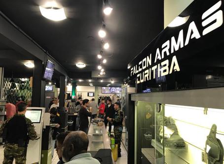 Reinauguração FALCON ARMAS em Curitiba/PR