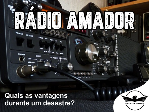 Rádio amador: Quais são as vantagens durante uma crise?