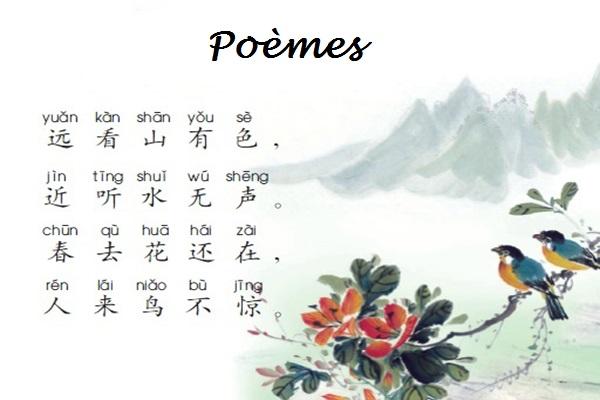 Poèmes de la période Tang