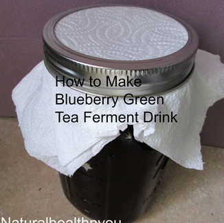How To Make Blueberry Green Tea Ferment Drink