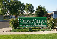Cedar Villas - Availability
