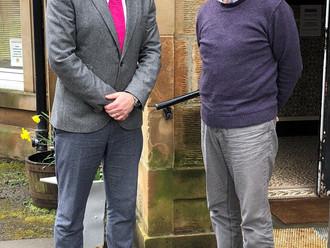 Gavin Newlands MP praises work of RAMH