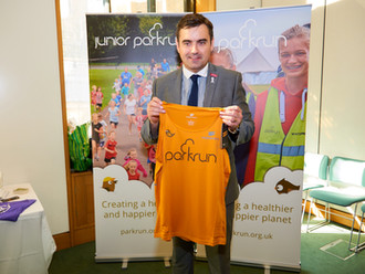 Run, jog, walk or volunteer at local parkruns says Gavin Newlands MP