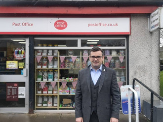 NEWLANDS CALLS FOR FAIR PAY FOR POST OFFICES