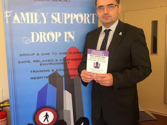 Gavin Newlands MP calls for continuation of funding for lifeline support service