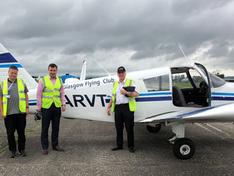 Local MP takes to the skies